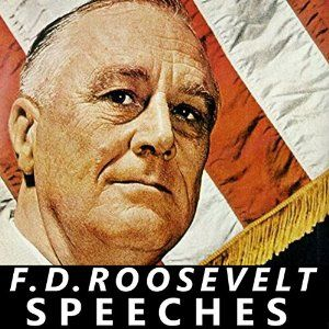 """The longest-serving President in American history, Franklin D Roosevelt led the nation through its two most lethal challenges of the 20th century - the Great Depression and the Second World War. This is a collection of FDR's most stirring speeches, from his First Inaugural Address, to his speeches outlining the New Deal and opposing the """"economic royalty"""", to his call for a declaration of war with Japan, the Atlantic Charter, and his joint statement with Stalin and Churchill at Yalta."""