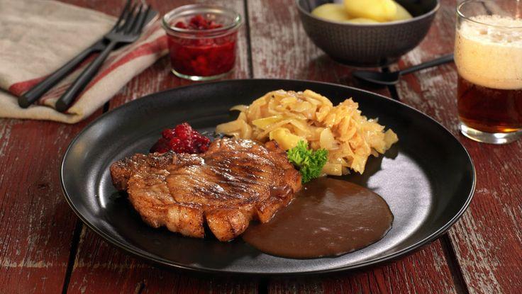 Norwegian Pork Chops