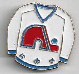 Quebec Nordiques Goalie | Quebec Nordiques Goalie White Jersey Pin D | eBay