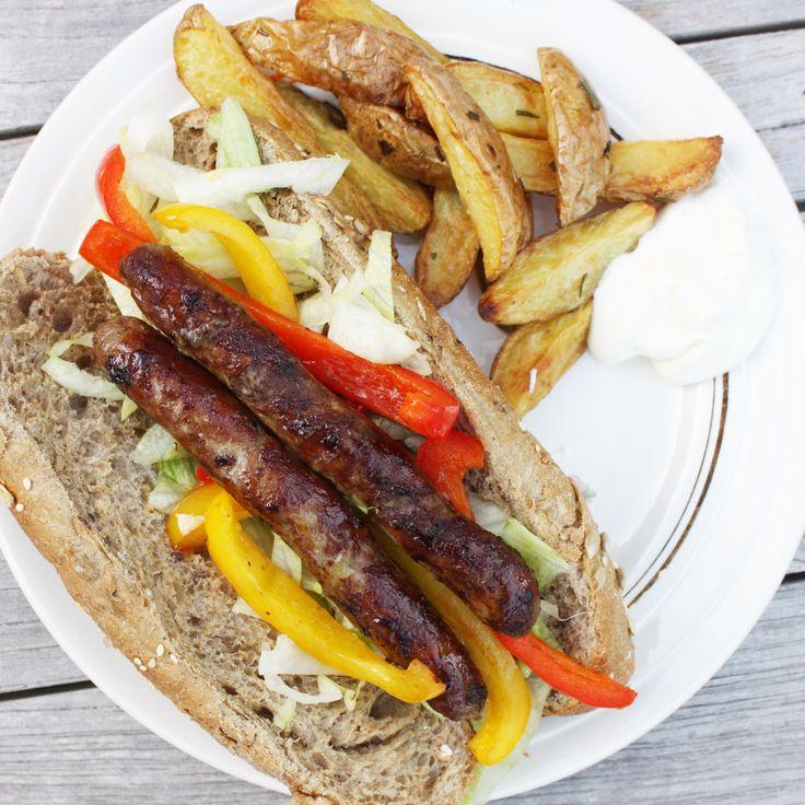 Newstyle+Hotdog+met+gegrilde+paprika