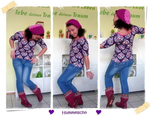 ♥ Hummelschn ♥✂ : ✂ ♥Häkelmütze by #allerlieblichst