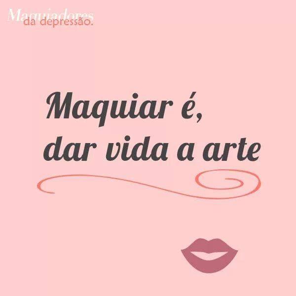 Preferência 14 best Frases - Maquiagem images on Pinterest | Make up, Beauty  BJ77