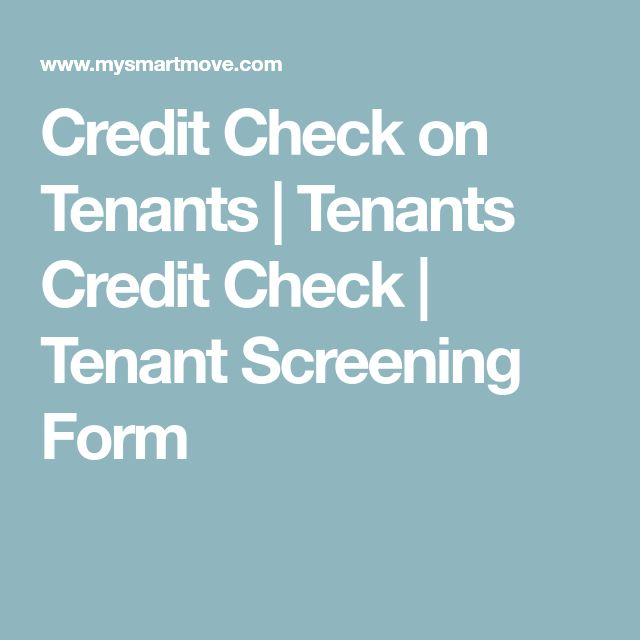 Best  Tenant Check Ideas On   Property Management