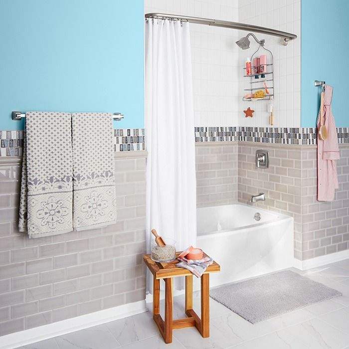5 Phenomenal Bathroom Tile Combinations: 579 Best Images About Bathroom Inspiration On Pinterest