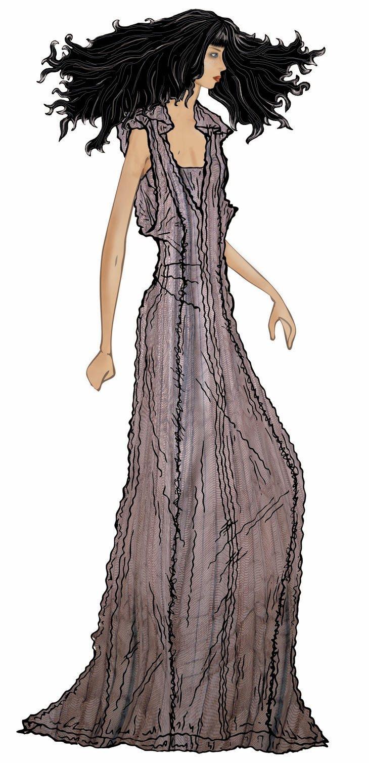 #fashion #girl #illustrartion #elegant #style #design #sketches  figurino manuale e digitale, arte del figurino, freelance fashion graphic designer, sketches illustrator italia italy, amanda marzolini thef...
