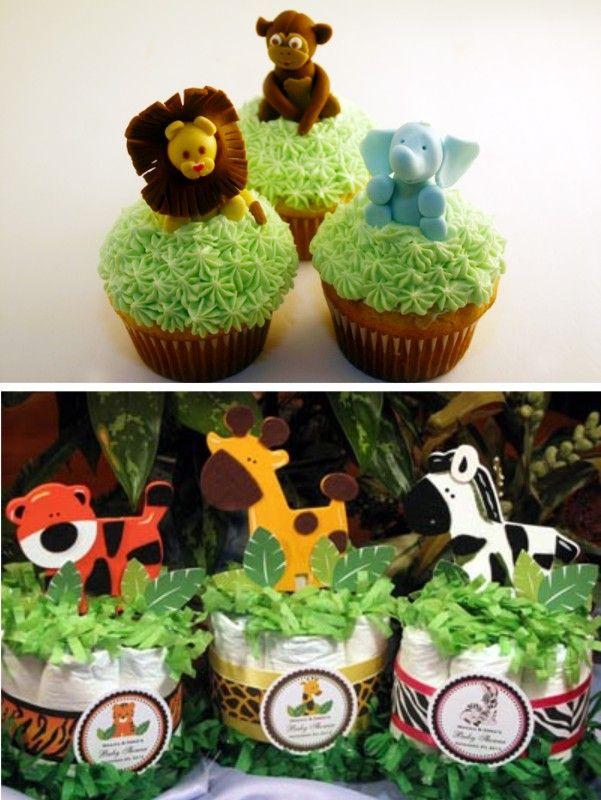 Animal Baby Shower Cake Ideas