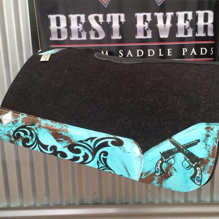 Desert Rose Equine custom Best Ever western saddle pad #besteverpads #ridewiththebest