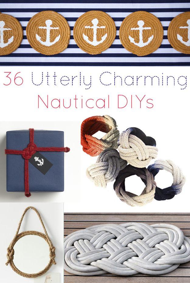 36 Nautical DIYs