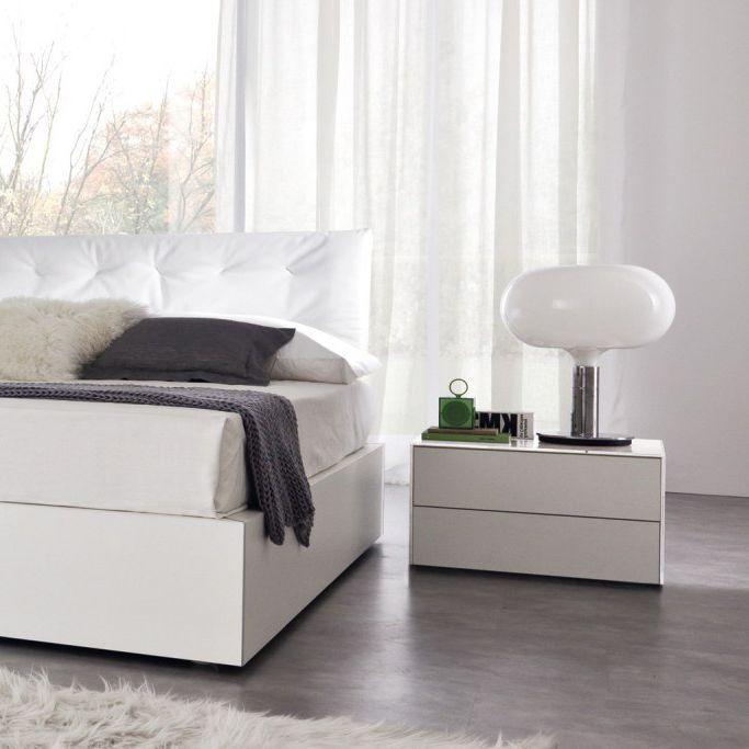 Mesa de noche / rectangular / de interior / moderna COMBI  ZALF