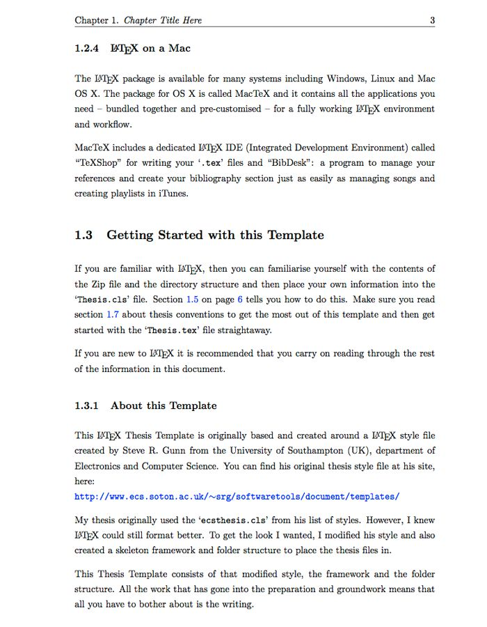 Latex Thesis Template Kth
