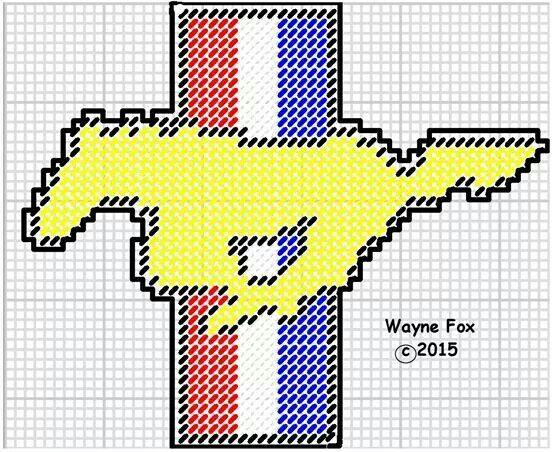 Mustang logo by: Wayne Fox