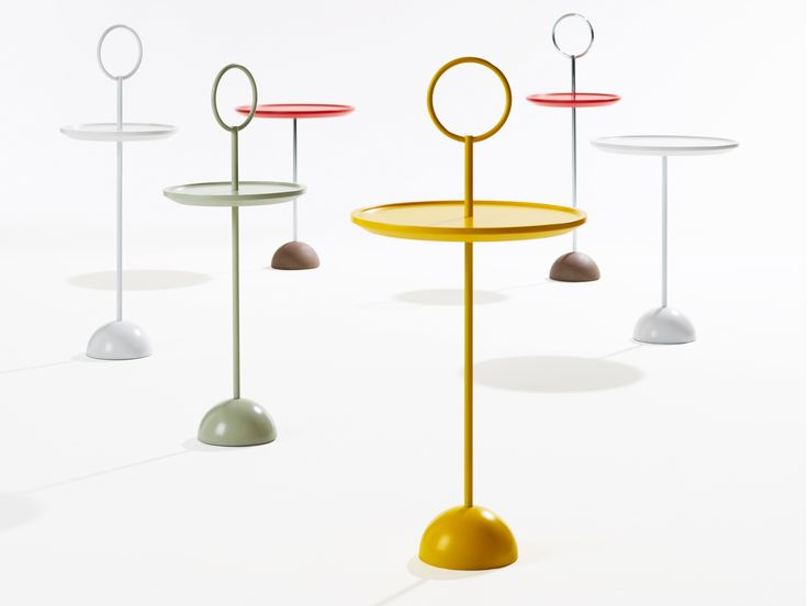 Lollipop sofa table design by Malin Lundmark