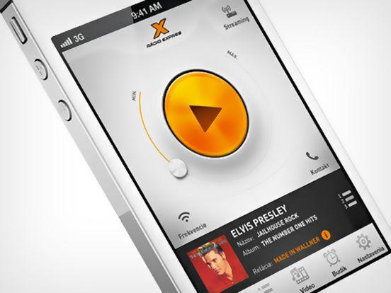 #ui design #app #iphone