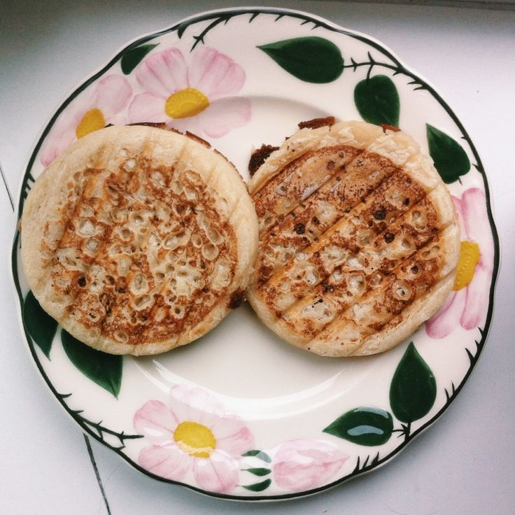 toasted crumpets | breakfast