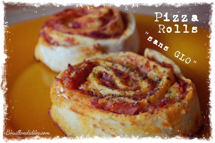 pizza rolls roulés sans GLO (gluten, lait, oeuf) Bouillondidees