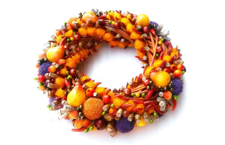 Niestety nie obyło się bez z trwalszych owoców i liliowej wstążki dla osłody.Pikantny mus o realnym zapachu papryki