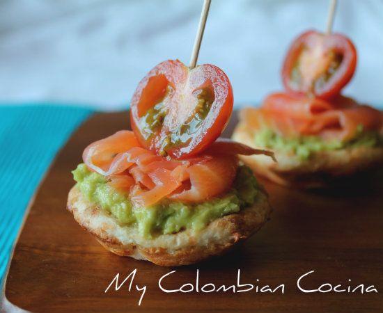My Colombian Cocina - Tartaletas de Yuca
