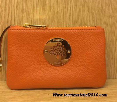 Latest Christmas gift-Mulberry daria pouch 2014 orange