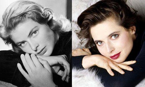 9. Ingrid Bergman and Isabella Rossellini | Silver screen ...