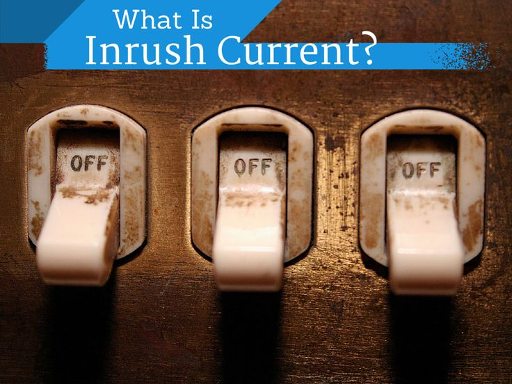 What is Inrush Current? Inrush current isn't new, but the newer ballasts and drivers have made it a bigger problem than it was before, and it's a problem we'd like to address today. #lighting #science