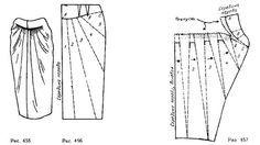 юбка из джерси выкройка - Поиск в Google