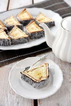 Dachkuchen mit Mascarpone und Milchkonfitüre