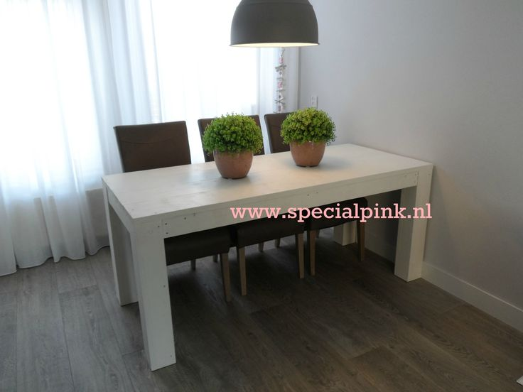 #eettafel Barry #wit #hout #white
