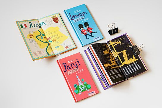 City guide book for children