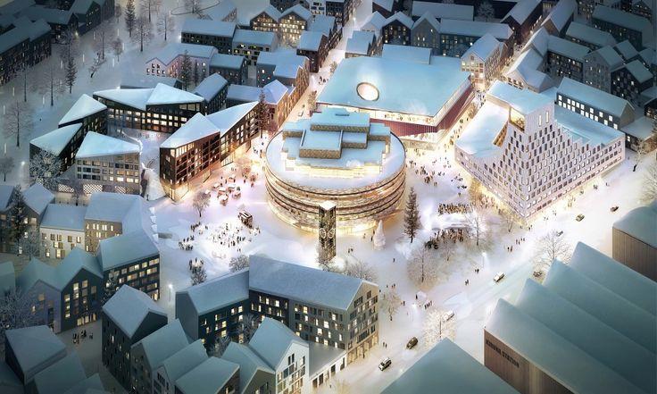 "Kjellander+++Sjöberg's+Swedish+Urban+Block+to+Increase+""Civic+Dialogue"""