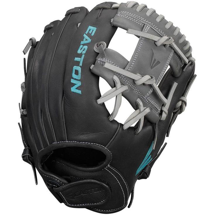 "Easton Core Pro 1175BKGY 11.75"" Fastpitch Softball Glove"