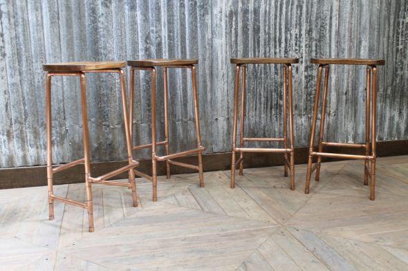 low copper stools