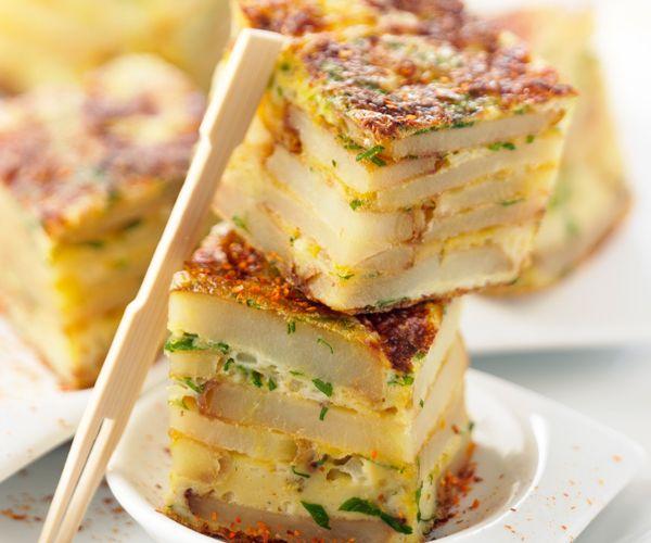 Pour l ap ritif la tortilla de pommes de terre ravira vos for Menu samedi soir entre amis