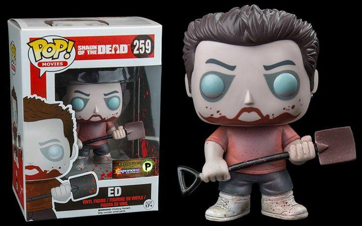 Shaun Of The Dead Zombie Ed Exclusive Pop Http Popvinyl