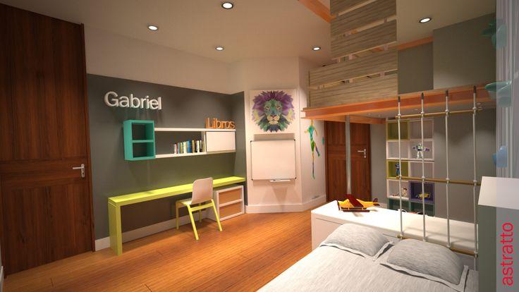 Remodelacion Habitacion Gabriel  Niño