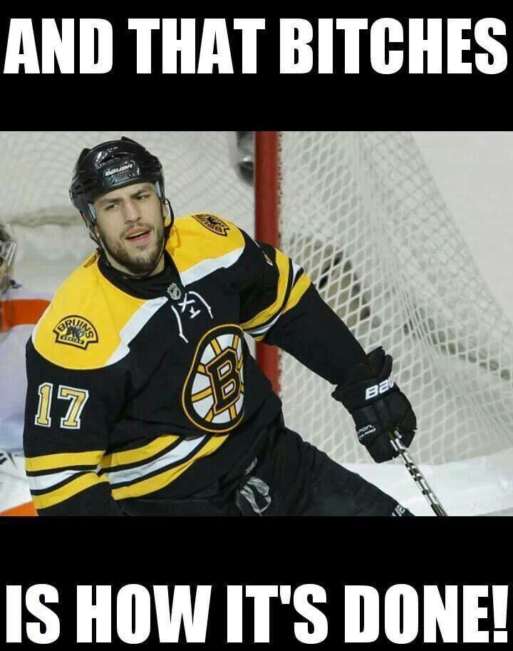 Milan Lucic #Bruins #Humor