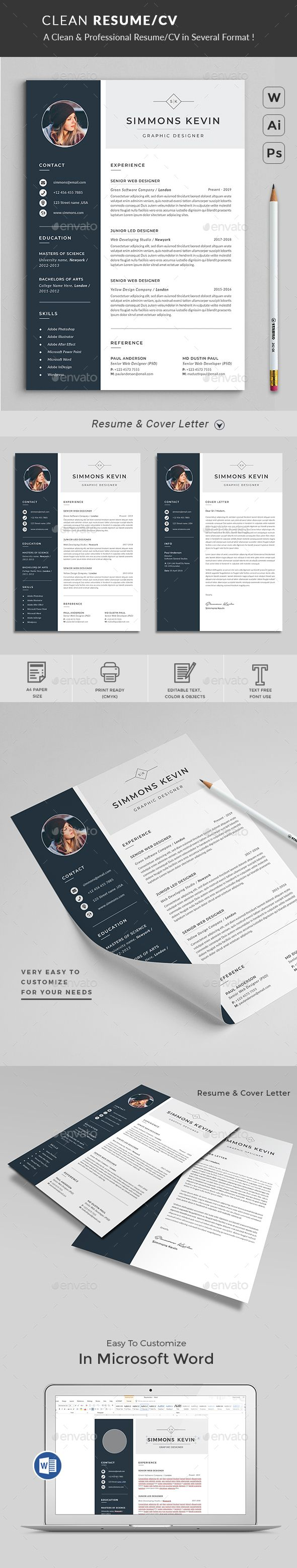 Resume Resumes Stationery The flexible page