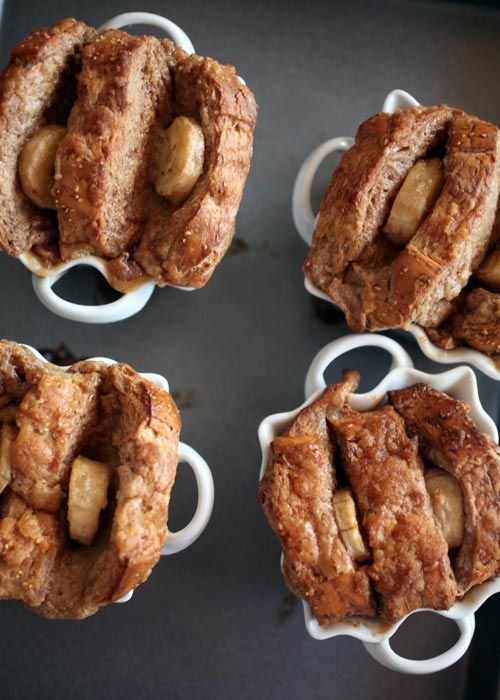 Baked Banana French Toast..making this super soon!