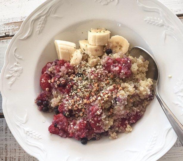 quinoa bol déjeuner