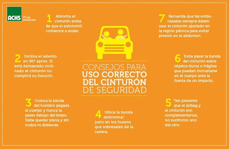 Consejos para el uso correcto del cinturón de seguridad #prevencion #1enprevencion #conduccionsegura