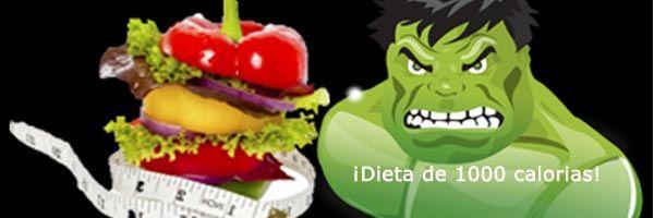 ¡¡Bloquea las calorías en estos días festivos!! Esta dieta de 1000 calorías diarias es muy eficaz. Disociada y para hacerla los días que quieras.¡Entra!