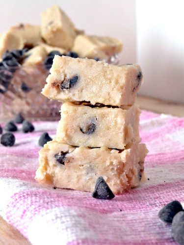 This Chocolate Chip Cookie Dough Fudge Recipe Will Blow Your Mind
