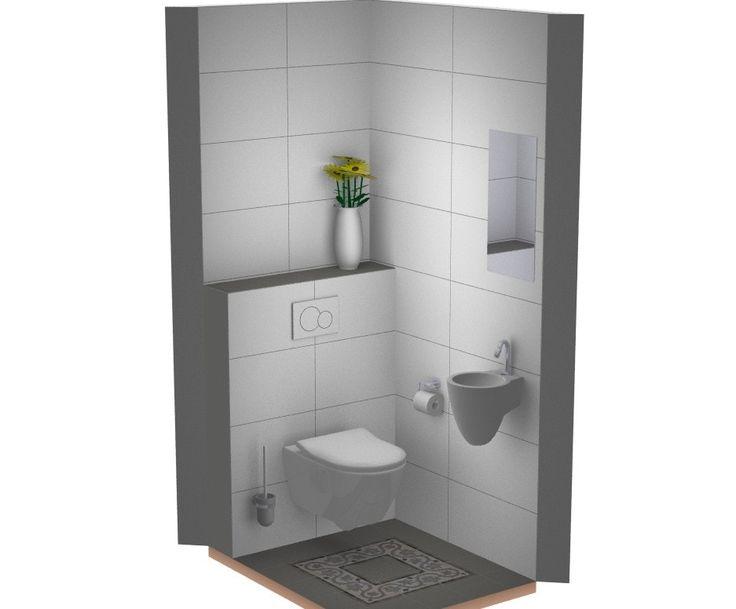 Wasbakje voor toilet ecosia