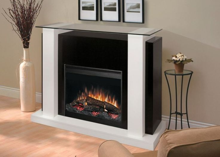 White Electric Fireplace  - Plus and Minus in Using Electric Fireplace