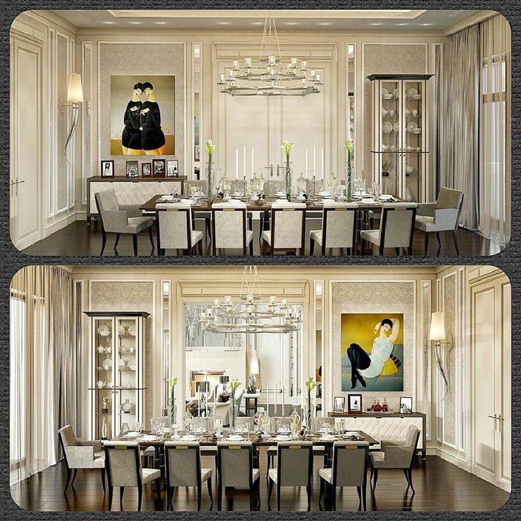 Столовая в частном доме #ourwork #ourproject #designproject #столовая #дизайнбюро #студия_дизайна #арбат #ремонт