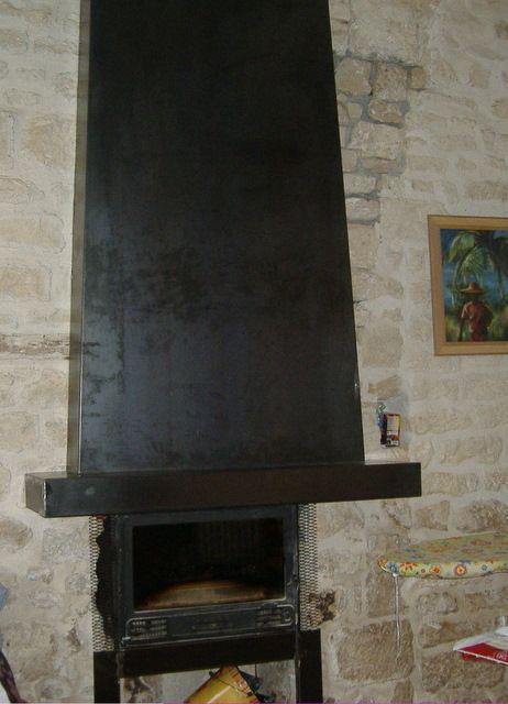 17 meilleures id es propos de hotte chemin e sur for Decoration hotte de cheminee