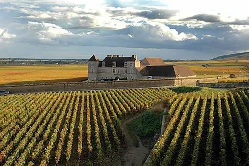 Clos de Vougeot, la Bourgogne, France