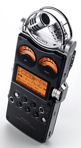 Sony PCM-D1 Audio Recorder Sony PCM-D1 2-Channel Portable Flash Memory Audio Recorder Price: $1,599.00
