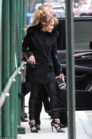 Jennifer Lopez Fashion Style Jennifer Lopez New York City January 19 2015 Jenn Fashionista