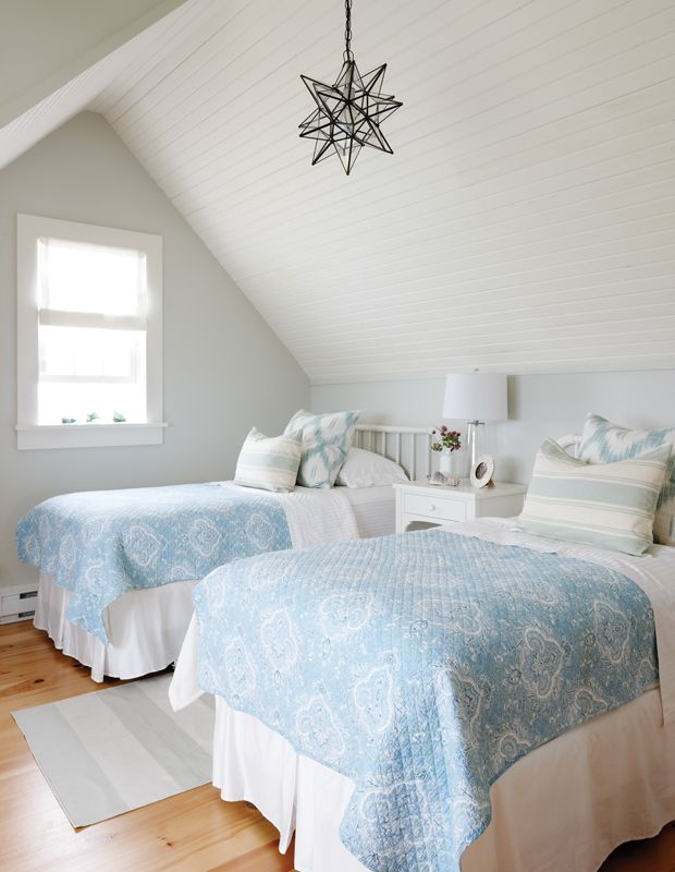 Browse charming East and West Coast homes and get nautical decor ideas for relaxed summer style.