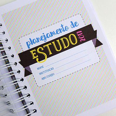 DIY: Planner de Estudos